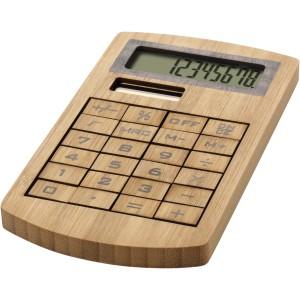 Eugene bambusz számológép, barna